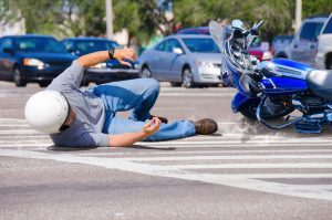 Injured Motorcycle Passenger