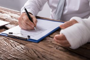 filing an injury compensation